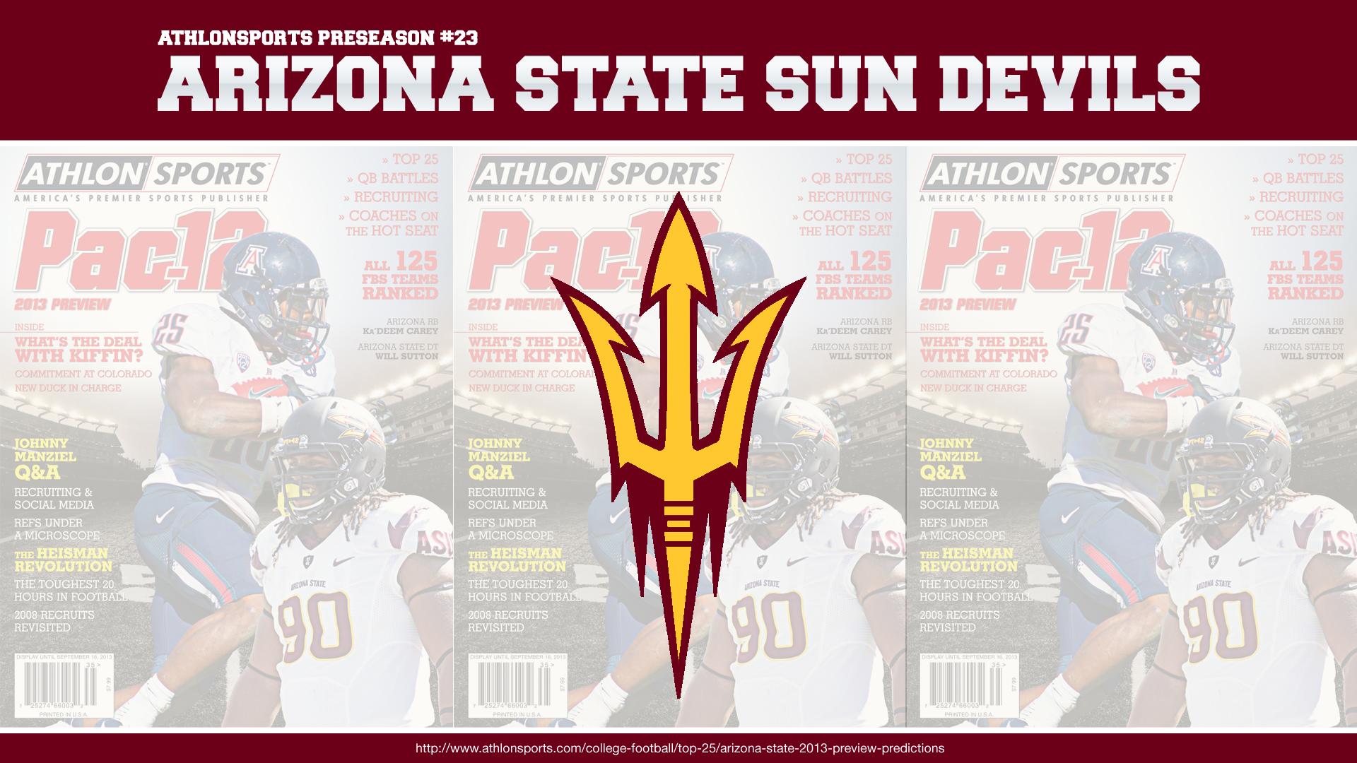 Asu Football Wallpaper: Arizona State